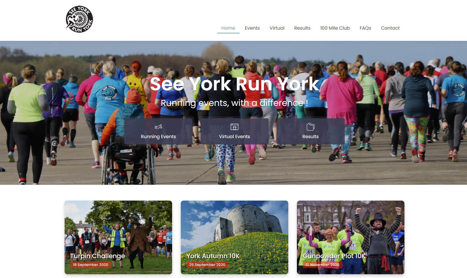 New website for York running event business | Technology news from Windermere, Cumbria - Iosys