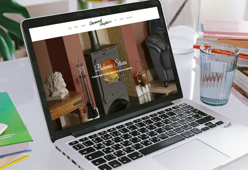 A new website designed in Cumbria for Fireplaces