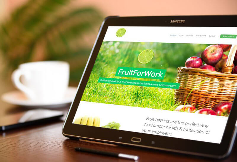 Iosys are thrilled to have worked with FruitForWork on their new website.