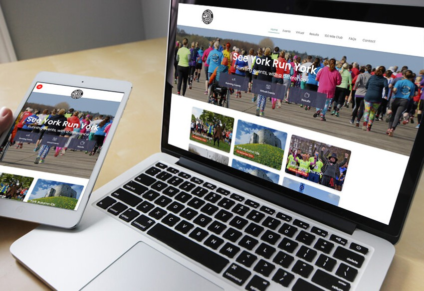 A new website designed in Cumbria for See York Run York
