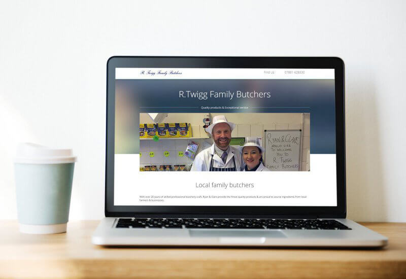Iosys are thrilled to have worked with R Twigg Family Butchers on their new website.